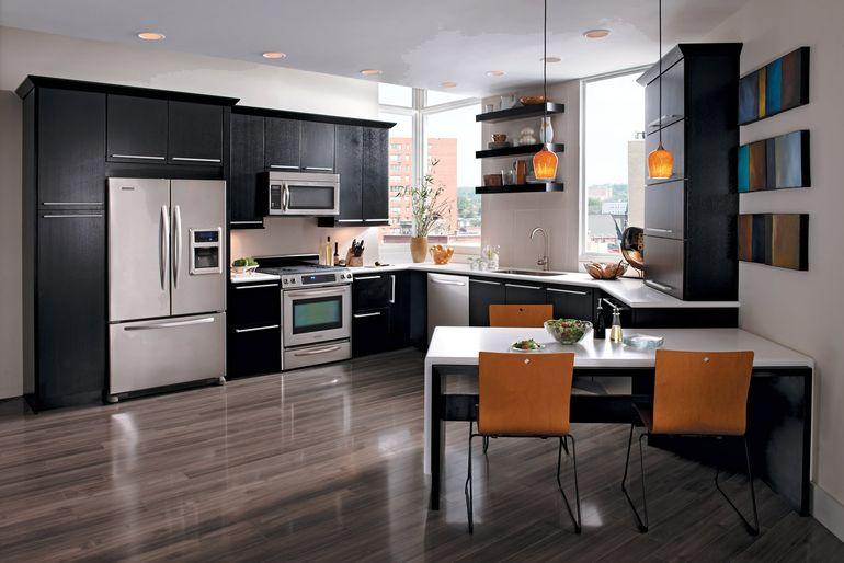 Современные тенденции дизайна для маленькой кухни