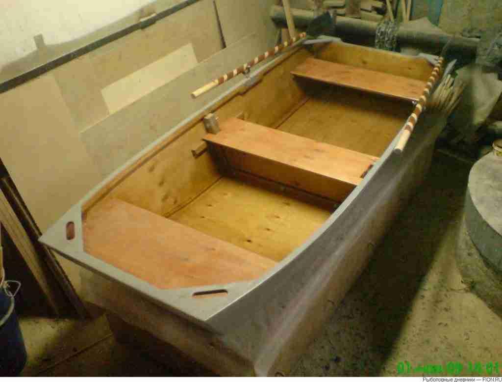 Лодку из фанеры своими руками фото