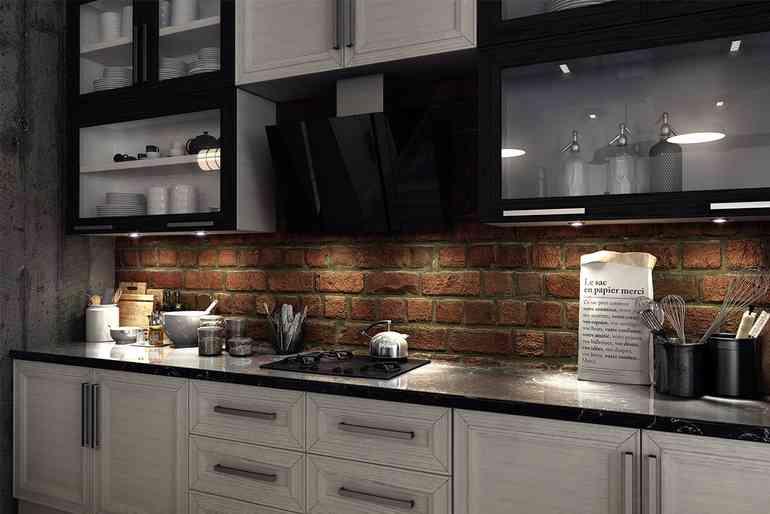 Почему кухонные фартуки с крупной фотопечатью уже не актуальны?