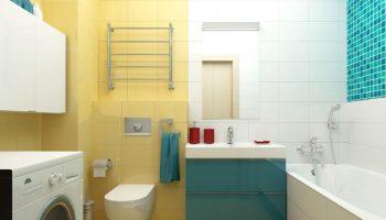 Как уместить все необходимое даже в крошечной ванной