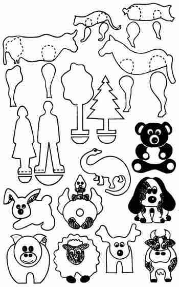 Фигурки животных для детей