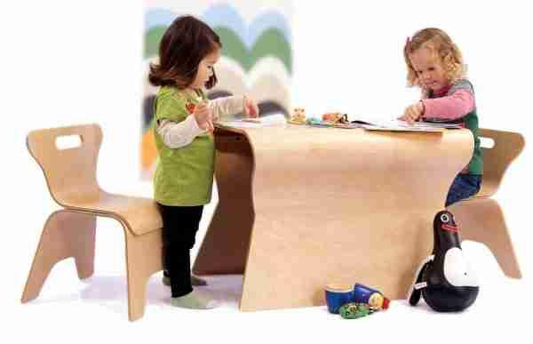 Гнутая мебель из фанеры для детей