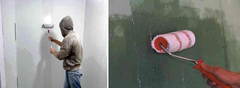 А надо ли грунтовать стены перед поклейкой обоев или можно сэкономить