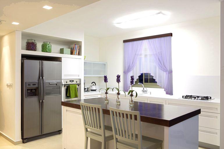 Как обыграть и оформить нишу в планировке кухни