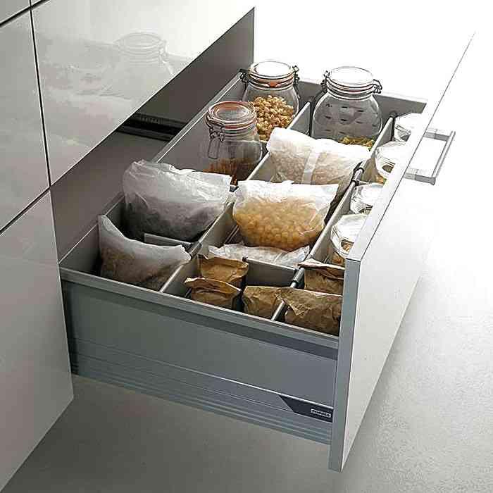 Как правильно раскладывать посуду на кухне - освободите кучу места