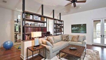 Как выбрать легкую и функциональную перегородку для квартиры-студии