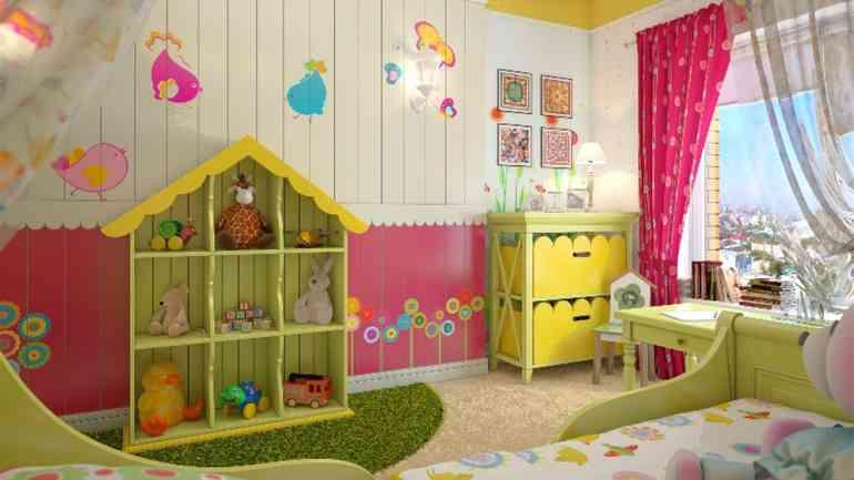 Красивые идеи оформления комнаты для девочки