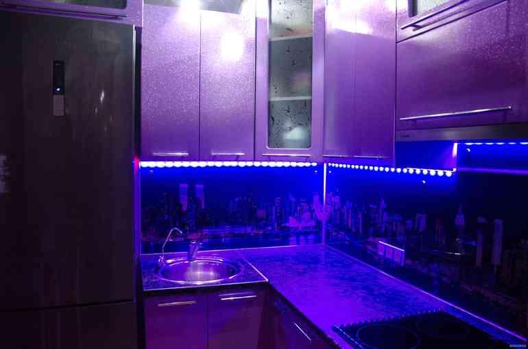 Как сделать подсветку кухонного гарнитура самостоятельно