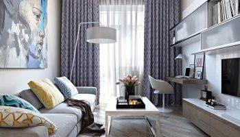 5 способов обыграть маленькую гостиную с помощью искусственного освещения