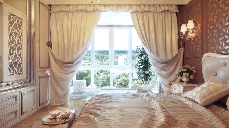 Как подобрать правильные шторы к обоям с рисунком