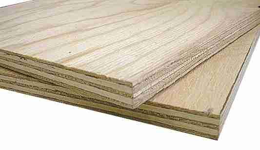 Изделия из шпона березы несколько тяжелее своих аналогов из шпона хвойной древесины
