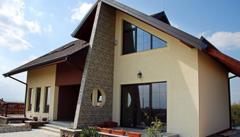 Каркасные дома с гаражом