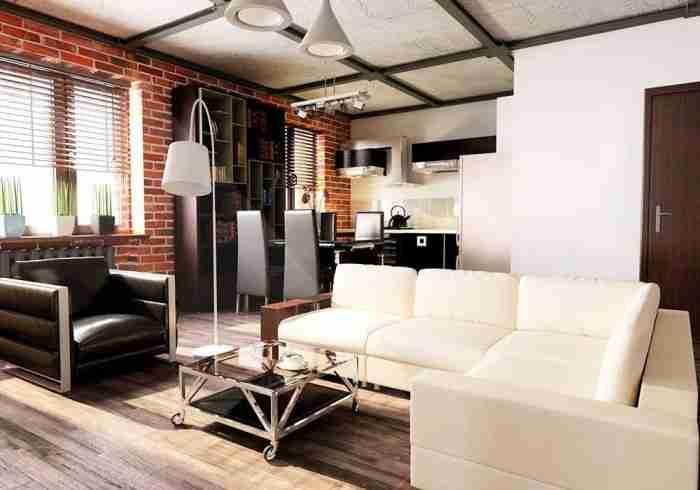 Как правильно организовать интерьер в квартире-студии