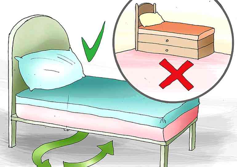 Как правильно поставить кровать в спальне, чтобы лучше спалось