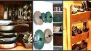 Как правильно раскладывать посуду на кухне — освободите кучу места