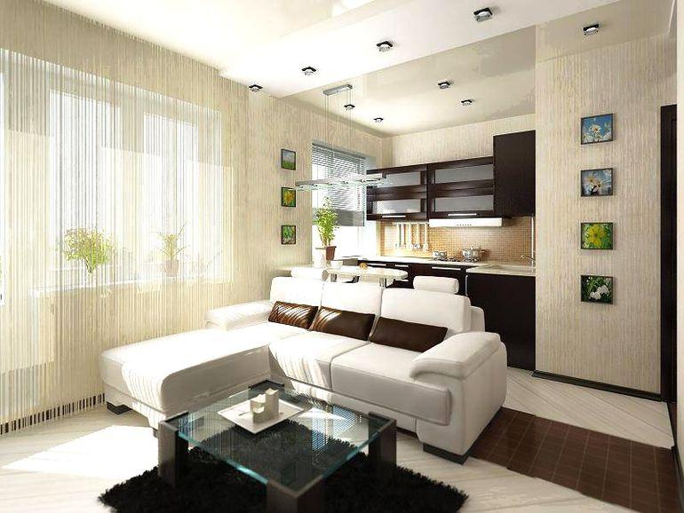 Как с помощью дизайна обыграть зону спальни в квартире-студии
