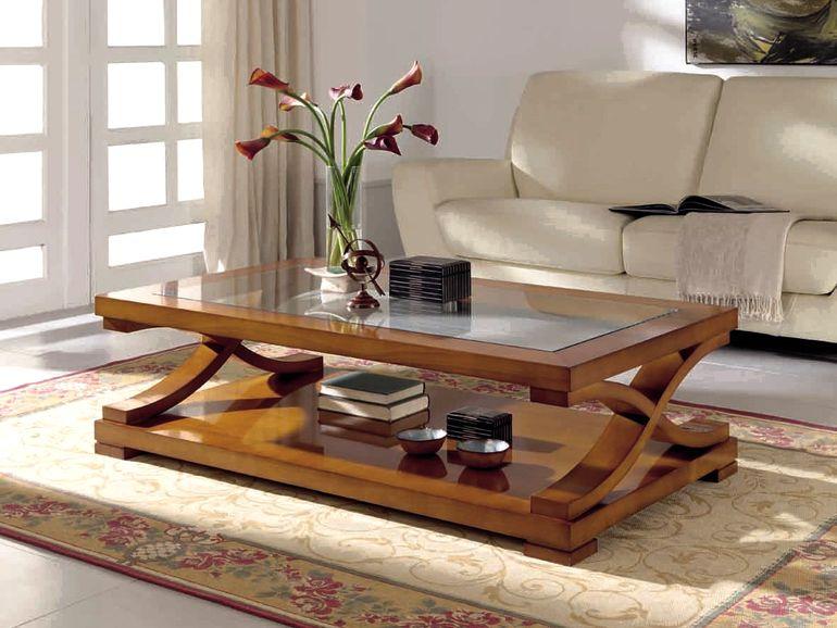 Самодельные журнальные столики за копейки - экономим на мебели