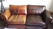 Как восстановить кожаный диван своими силами?