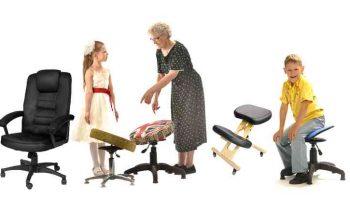 Как выбрать правильный ортопедический стул — здоровье прежде всего