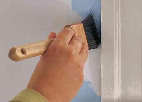Как красить кистью без следов и разводов