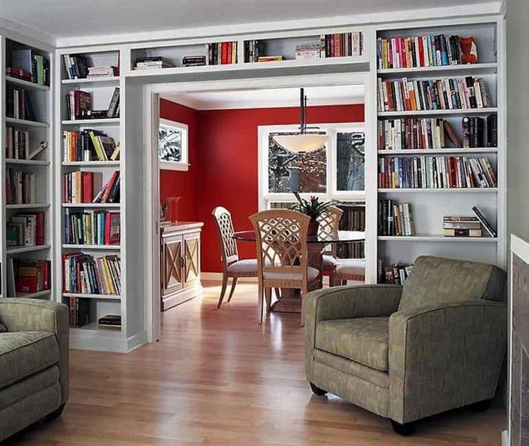 Как хранить книги и сделать домашнюю библиотеку изюминкой интерьера