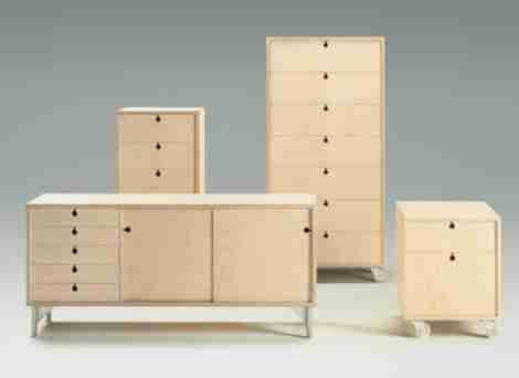 Корпусная фанерная мебель
