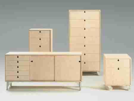 Корпусная мебель, изготовленная из фанеры