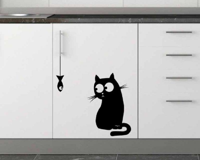Прикольные рисунки на холодильниках