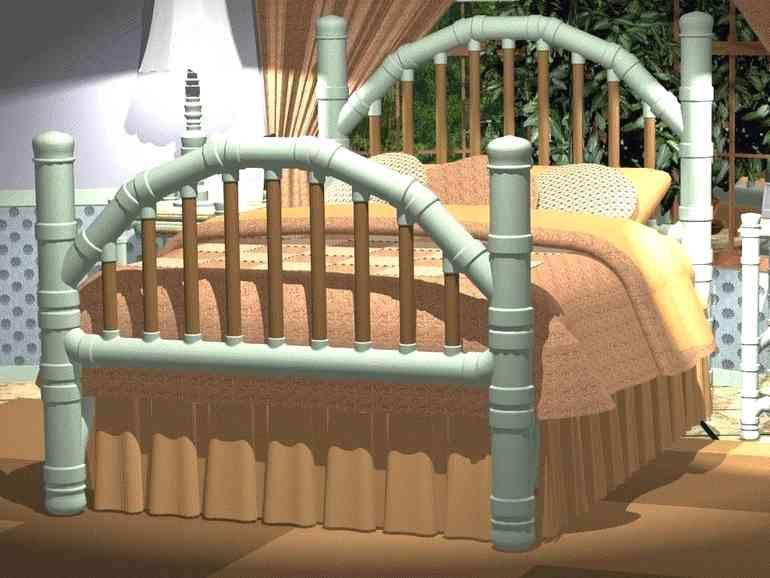 Делаем мебель из пластиковых труб - красиво, дешево, эстетично