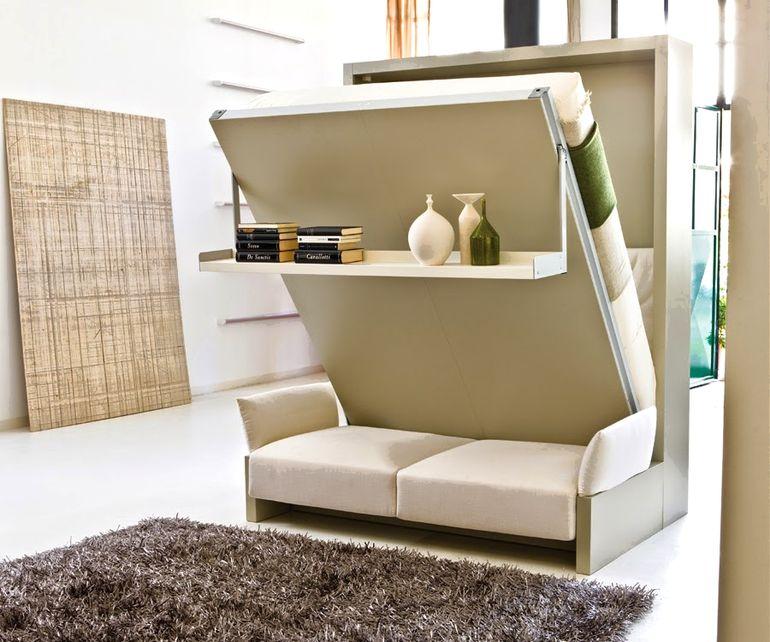 Хочется большую кровать в маленькую квартиру? Выход есть!