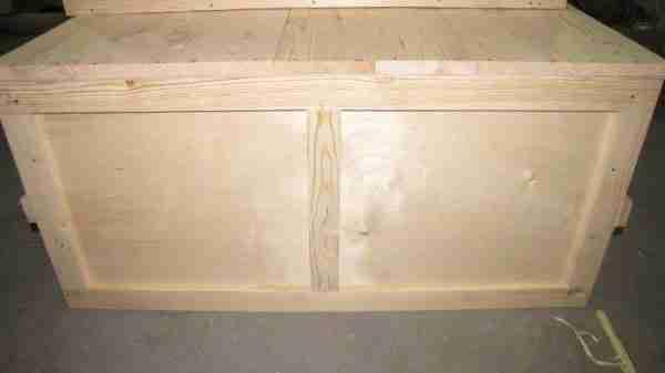 Крупногабаритная комбинированная тара из фанеры и доски