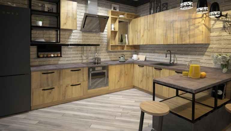 Кухни лофт: секреты стиля и особенности воплощения