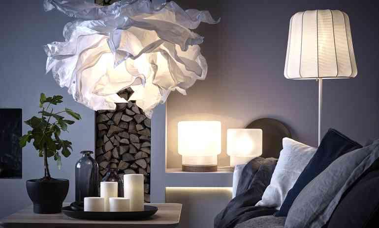 Лампы и бра как элементы акцента дизайна комнаты