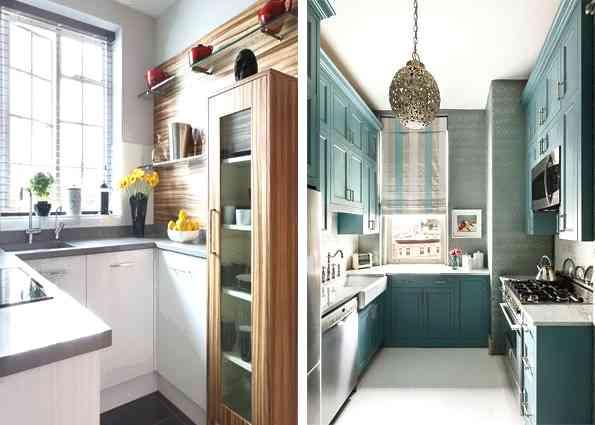 Как расширить пространство, если у вас маленькая кухня