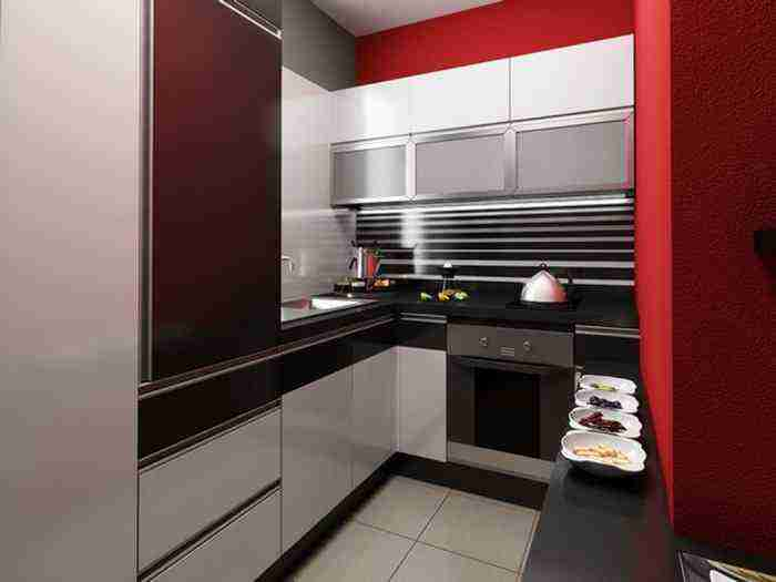 Компактная и функциональная кухня в доме