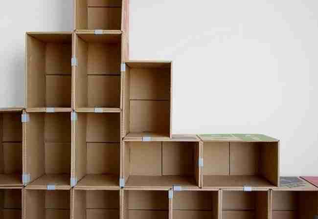 Мебель из коробок своими руками