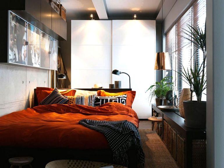 Как расставить мебель в комнате асимметричной формы