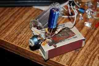 Мини лазер из ДВД привода