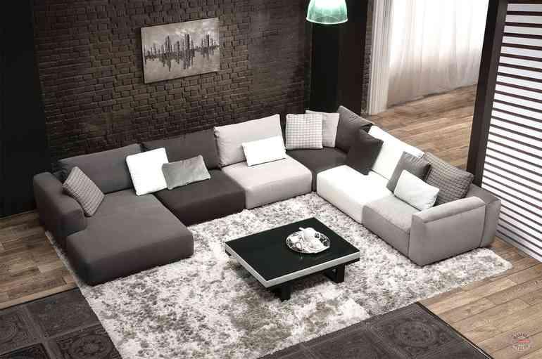 Как правильно выбрать модель дивана с учетом геометрии комнаты