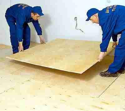 Фанера на пол. Инструменты для проведения работ. Укладка листов на поверхности с минимальными перепадами и по лагам. Кладка плитки