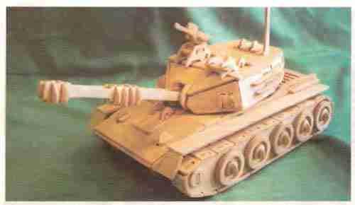 На фото модель будущего танка