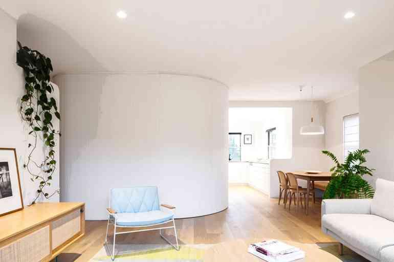 Почему не стоит делать в квартире декоративные круглые стены