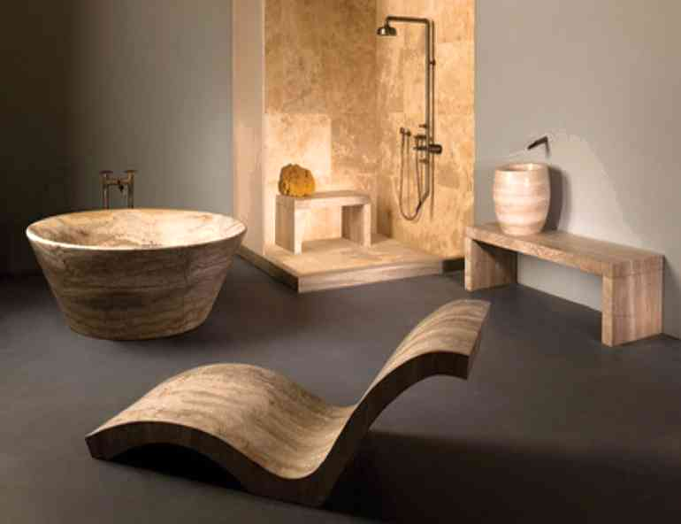 5 самых необычных форм и материалов для сантехники