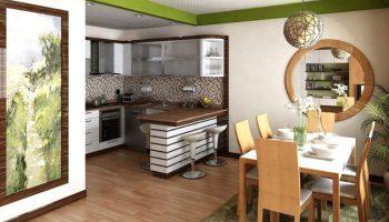 Стоит ли совмещать кухню с общей комнатой в малогабаритной квартире