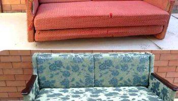 А вы знали что из старого дивана можно сделать 3 новых вещи?