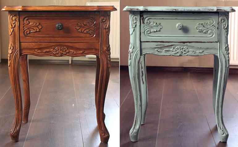 Реставрация мебели своими руками - просто и недорого