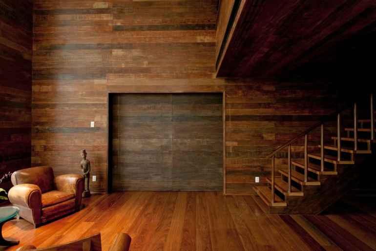 Мех, ткань и дерево: самые невероятные материалы для отделки стен. Часть 2