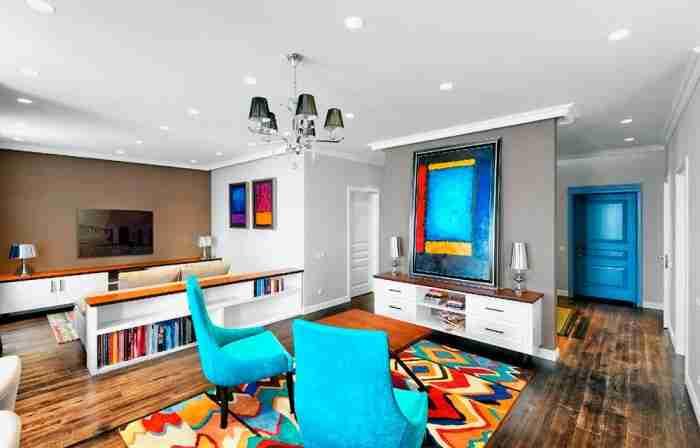 Оригинальное оформление квартиры в стиле «китч»