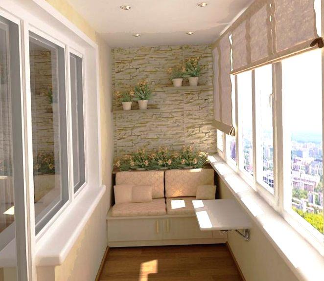 Обустраиваем балкон в хрущёвке, примеры работ до и после