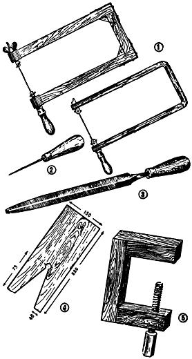 Основные инструменты для работы.